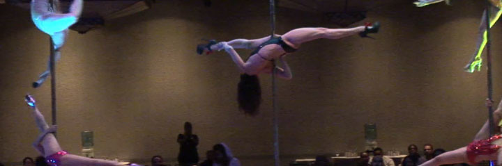 "Secret Pole Dance Studio ""Bedroom Fantasies"" Pole Event Los Angeles"