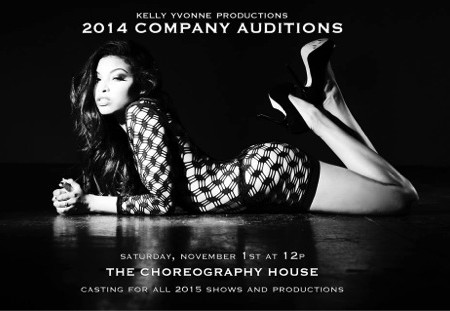 Kelly Yvonne Productions to Hold Open Auditions