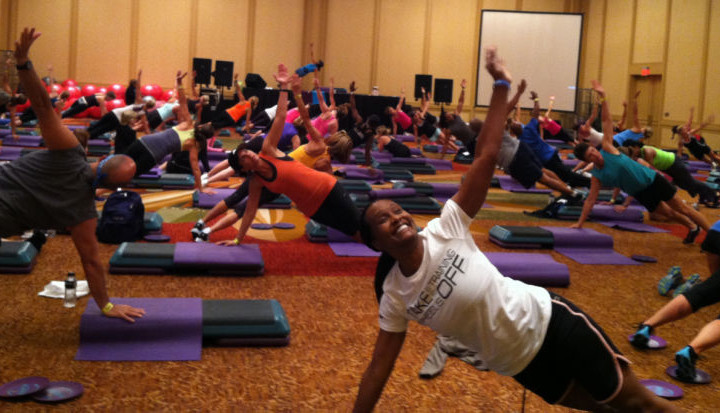 Hot new workouts at Mania fitness convention
