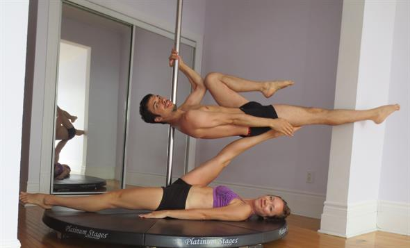Pole fitness centre catering to men opening in Montreal