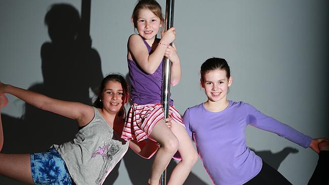 Grovedale studio teaches five-year-olds pole dancing