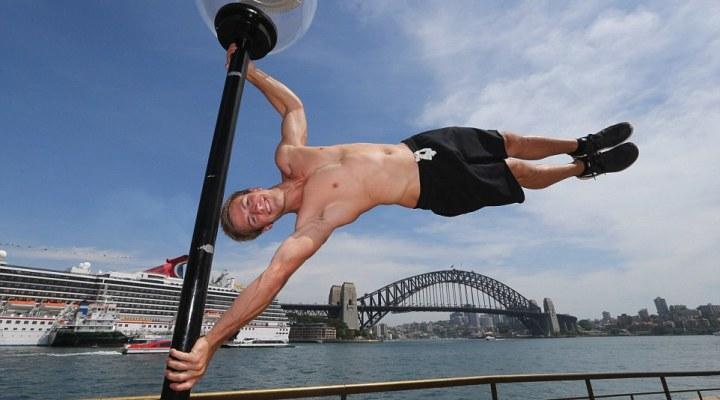 Stuntman Ben Toyer exlpains how he got hooked on pole dancing
