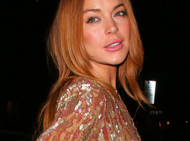 Lindsay Lohan Is Apparently Scared of Pole Dancing