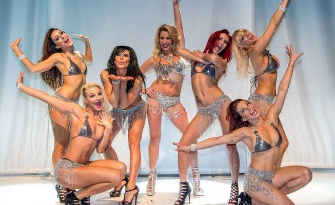 Review: Stripper pole, bathtub dancing win raves in 'Sexxy's' first night [Las Vegas Sun]