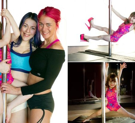 The world's youngest pole dancer?