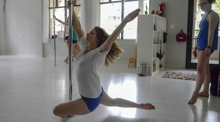 Pole dancing students defy stigma at Wild Orchid