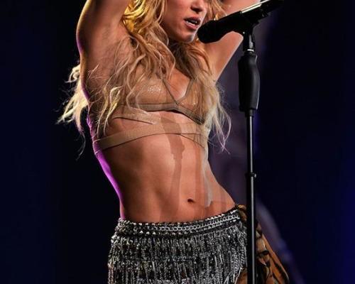 Shakira's Post-Baby Workout Plan