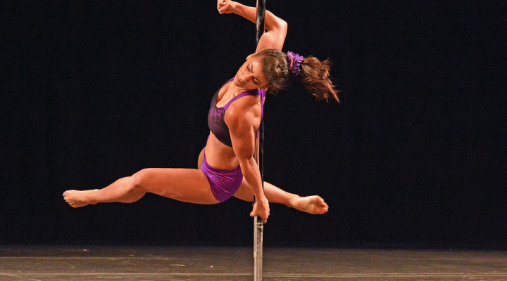 Danielle Gray moves from amateur to pro at the U.S. National Pole Championships