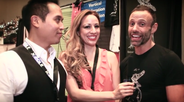Pole Expo 2015: Jonathan Nosan with Contorture