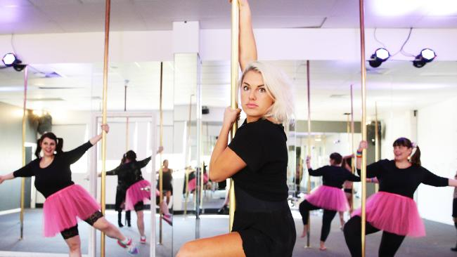 All-female comedy 'The Naked Truth' is set in a pole dancing class