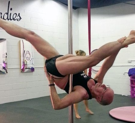 Middle-aged dad stuns wife after she discovers his love of pole dancing