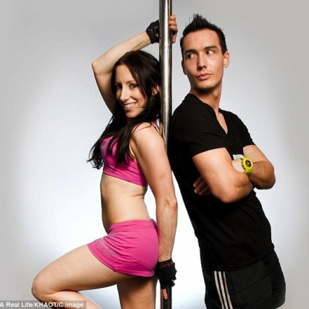 Pole-dancing couple reveal how the sport has improved their sex life