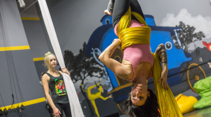 Big Top Performance Art Center offers juggling, aerial arts classes