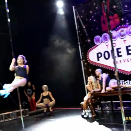 Inside the Wild World of Competitive Pole Dancing