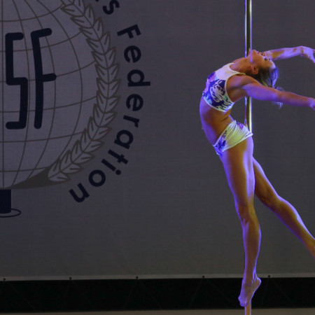 It's Pole Sports, NOT Pole Dancing