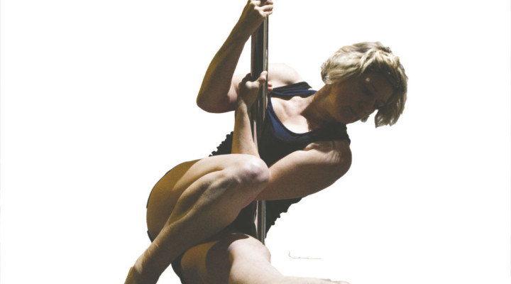 Pole dance like there's nobody watching