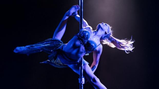 Hamilton pole dancer wins national award for flexibility