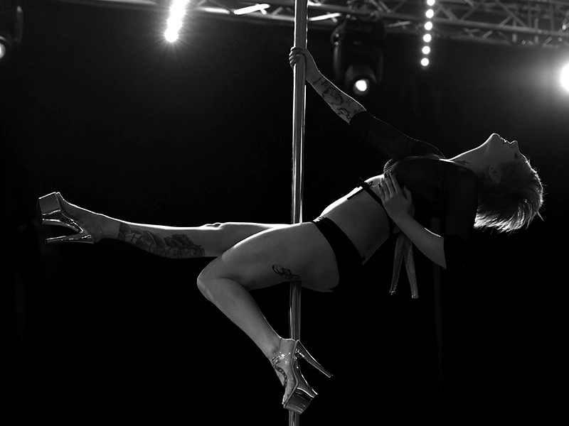 Pole Dancing… not just for professional stage dancers