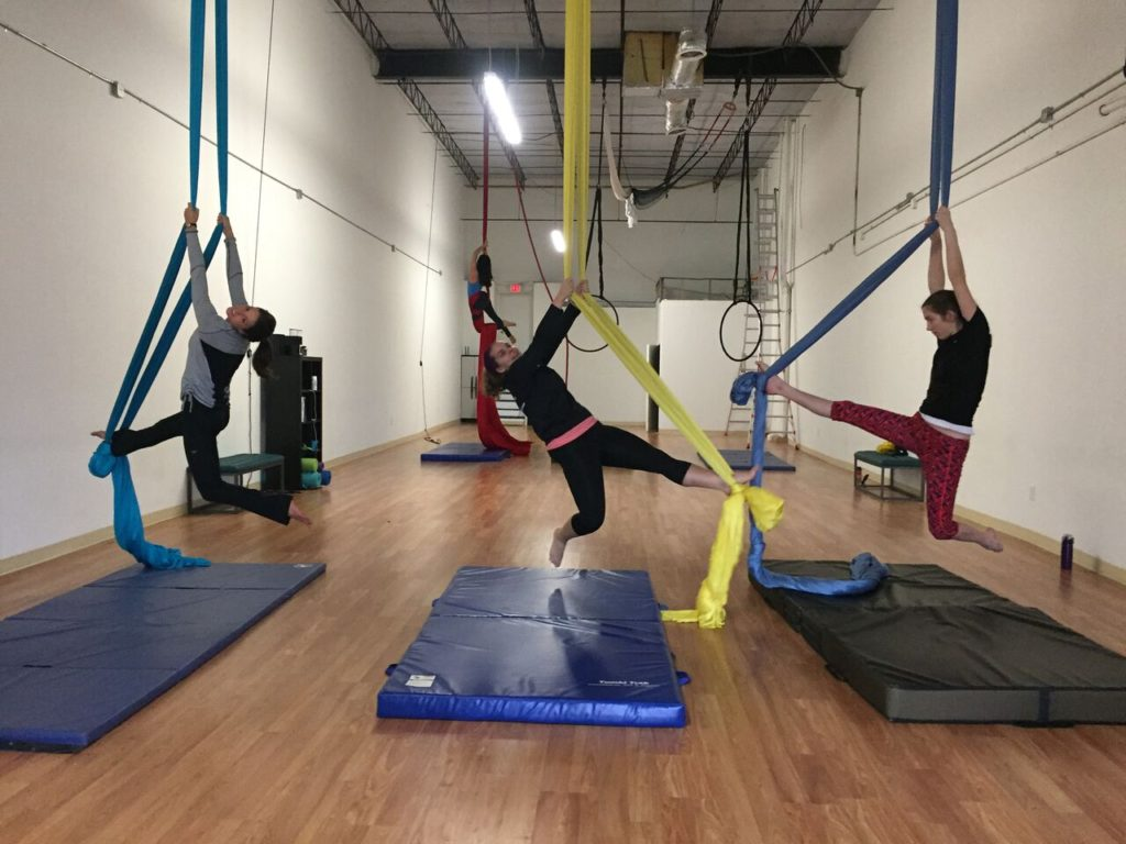 Inspire Aerial Arts takes fitness to new heights