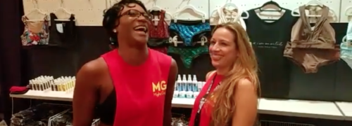 Pole Expo 2016 w/ Jacqueline Valdez: Amy Henderson [Mighty Grip] Interview