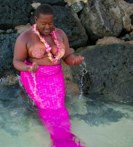 Body-Positive Pole Dancer Posed as a Mermaid and It's Everything