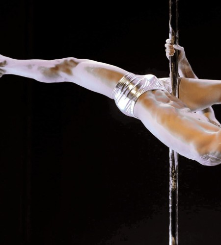 Pole dancing morphs into athletic sport
