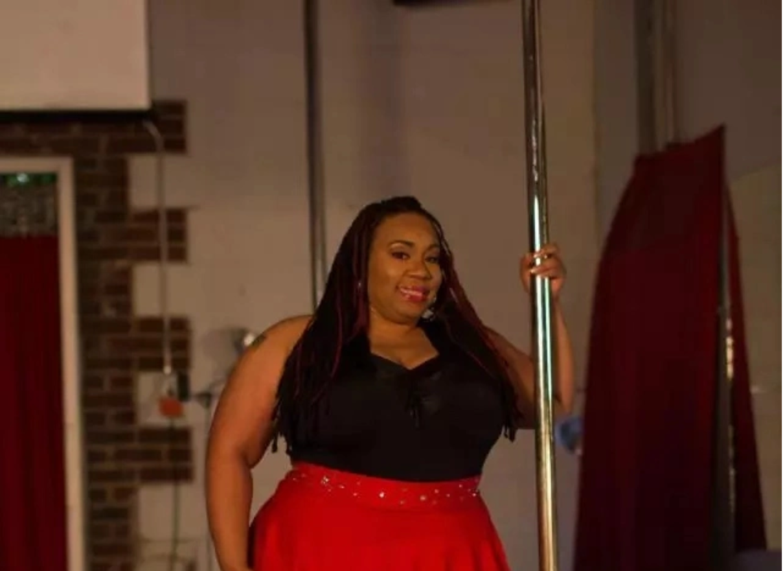 Queen of curves! Meet Plus-size pole dancer, 36, whose dancing skills are leaving everyone stunned