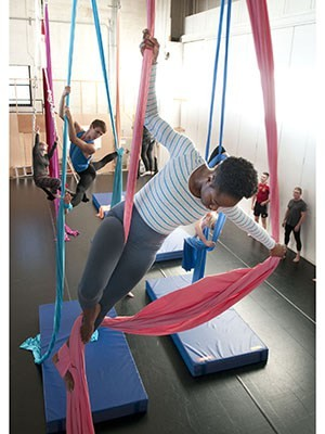 Aerial Dancing – A Form of Art and Exercise
