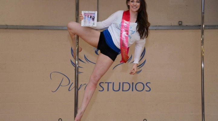Hereford's Annie Norris voted Most Influential Person in the UK pole dancing industry